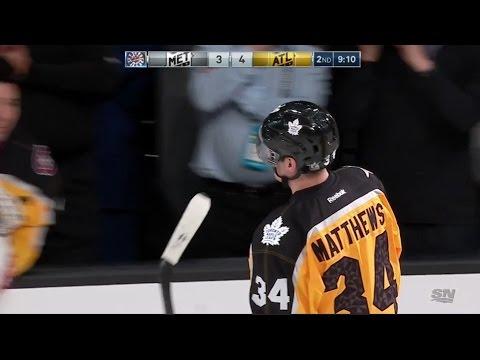 Auston Matthews first NHL All-Star Goal | 2017 NHL All-Star Games