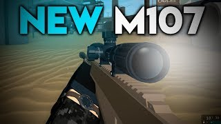 THE M107 on PHANTOM FORCES... (roblox)