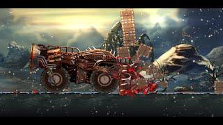 Monster Car Hill Racer 2