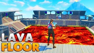 INSANE FLOOR IS LAVA TOURNAMENT | Fortnite Custom Game