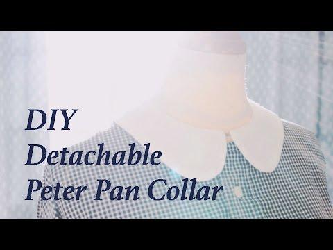 DIY Detachable Peter Pan Collarㅣmadebyaya