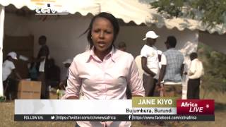 Burundi Elections marred by violence