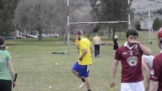 The University of Montana Hurling Team