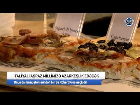 Italiyali ashbaz Robert Prosineçki cbc sport azerbaijan interview Chef Zoran Golubović