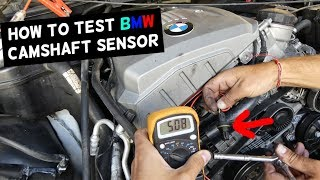Bmw E90 Bad Cam Sensor Fix