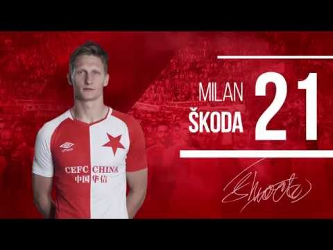 Základní sestava sešívaných: Rio Ave FC – SK Slavia Praha