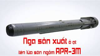Nga sản xuất ồ ạt tên lửa săn ngầm APR 3M