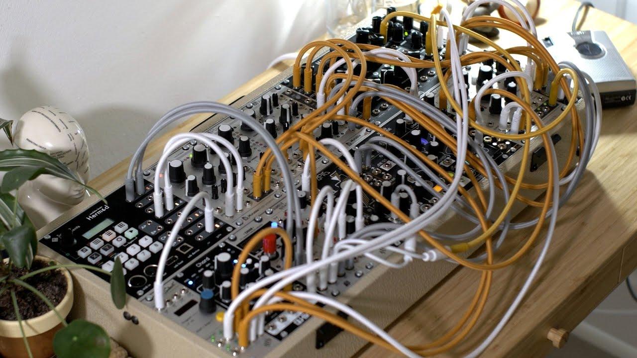 Echo Voice   Ambient   (w/ Hermod, ChordV2, Morphagene, Magneto, Tape Loop, Rings and Plaits)