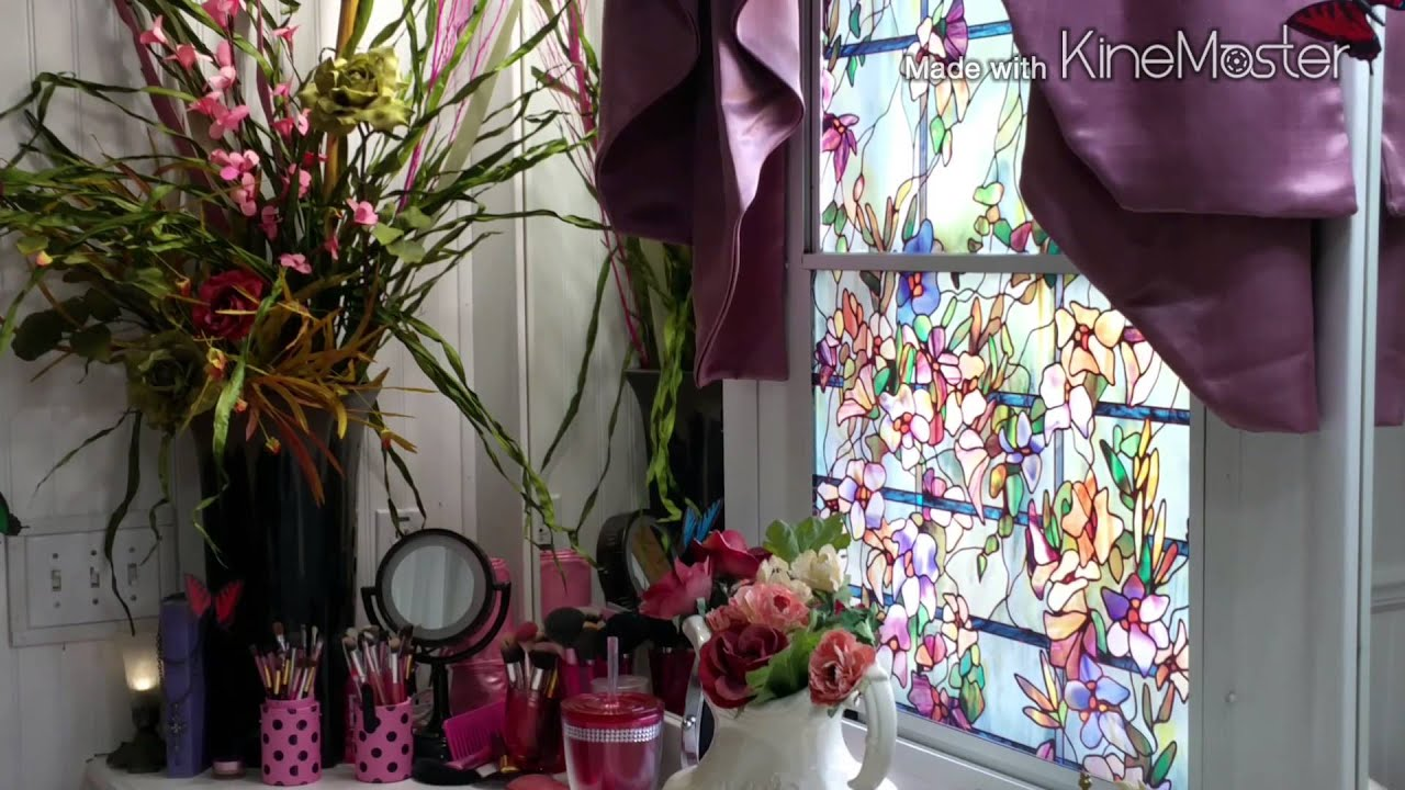 Requested Flower Arrangements In The Bathroom