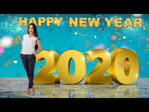 Happy New Year 2020 Banner or Post | Photo Editing Tutorial Step by Step thumbnail