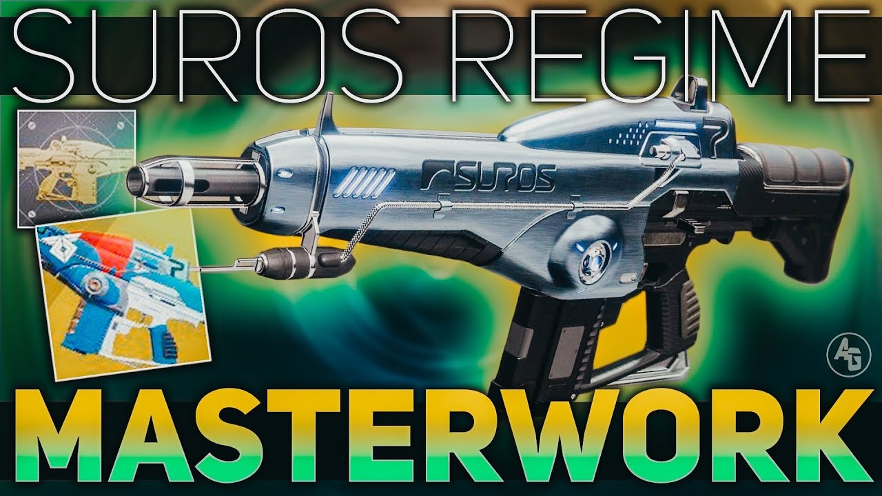 Suros Regime Masterwork Review (Suros Catalyst) | Destiny 2 ARC WEEK #Regime