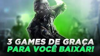 3 GAMES DE GRAÇA PARA VOCÊ BAIXAR NO SEU XBOX ONE!!! MINUTO XBOX