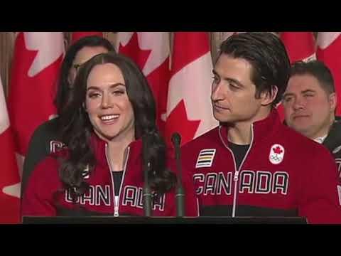 Tessa Virtue and Scott Moir named Team Canada's PyeongChang 2018 Flag Bearers