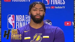 Anthony Davis Full Interview - Game 2 Preview | Lakers vs Heat | 2020 NBA Finals
