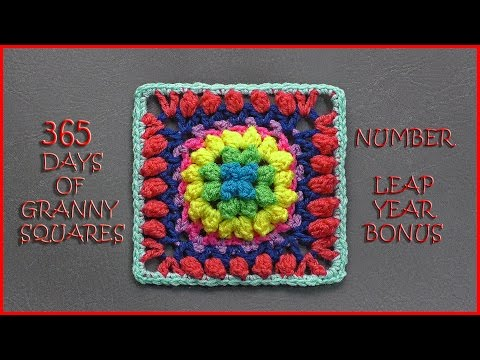 365 Days of Granny Squares Leap Year Bonus