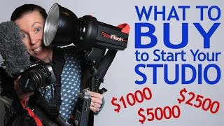 What to Buy to Start Your Studio