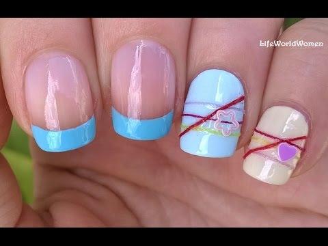 bracelet nail art diy cheerful summer nails design youtube