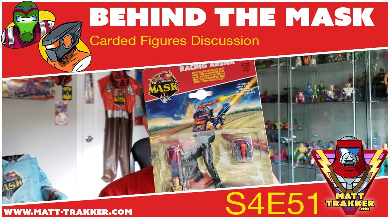 Toy Review: Carded Figures - S4E51