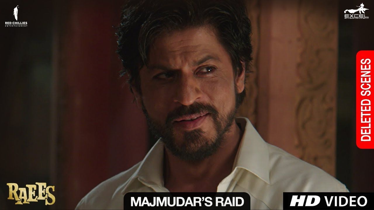 Download Raees | Majmudar's Raid | Deleted Scene | Shah Rukh Khan, Nawazuddin Sidiqqui, Mahira Khan