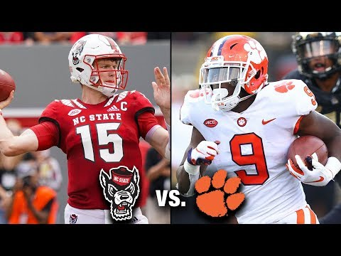 NC State vs. Clemson Football Preview