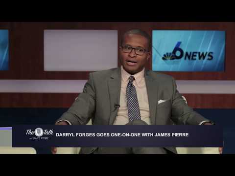 Darryl Forges goes one-on-one with James Pierre