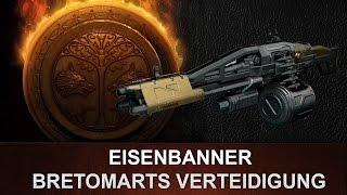 Destiny: Bretomarts Verteidigung   Eisenbanner Maschienengewehr   Review deutsch