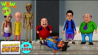 Bure kaam ka Bura Nateeja | Motu Patlu in Hindi | 3D Animation Cartoon | As on Nickelodeon