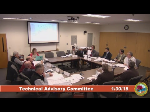 Technical Advisory Committee 1.30.2018