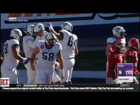 (Liberty Bowl) Georgia Bulldogs vs TCU Horned Frogs in 30 Minutes - 12/30/16