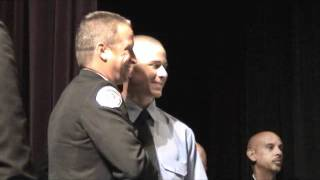 Brandon's Fire Academy Graduation