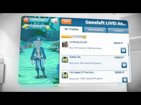 Gameloft Live! - Android/iPhone/iPad - Launch Trailer
