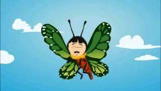 Randy Marsh as a butterfly