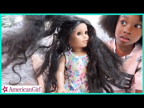 Fixing Sekora's American Girl Dolls Hair