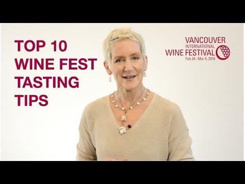 Top Ten Tasting Tips for VanWineFest