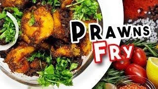 How To Make Prawns Fry (Royyala Fry) | Jhinga Fry | Delicious Food