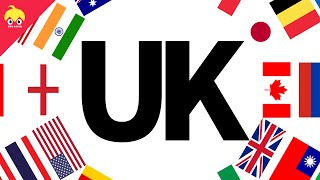 ピタゴラ国旗 UK 【グレートブリテン及び北アイルランド連合王国】