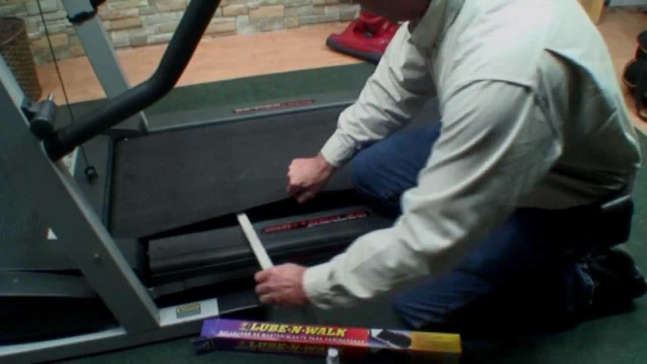Treadmill Maintenance Saves You Money Youtube