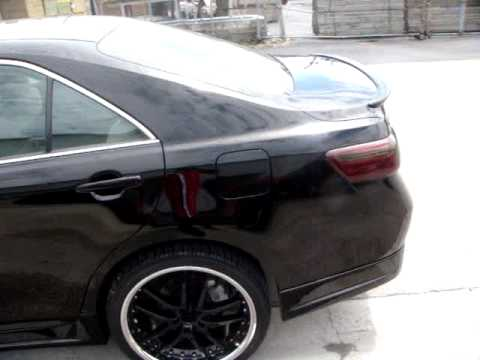 Mc Design Whips 2009 Toyota Camry Sport For Kendall Toyota