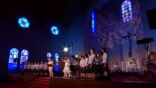 【公式】「時を超える絆」TSUKEMEN 合唱曲 / 浦上天主堂ライブ