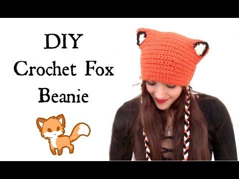 DIY Crochet: Fox Beanie