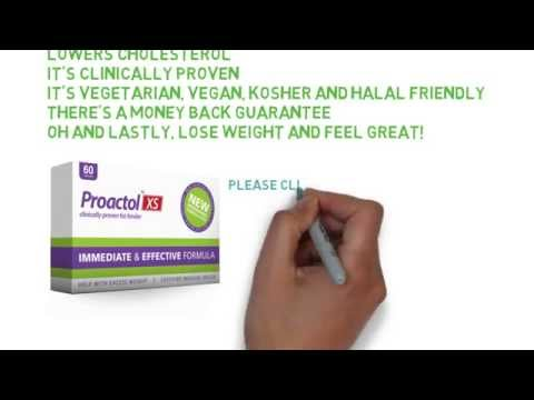 Proactol XS For Weight Loss - Lose 3/4 Pounds A Week