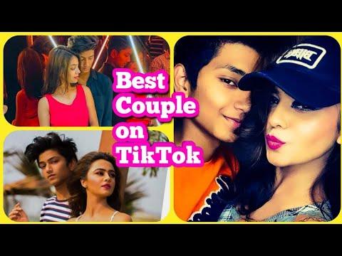 Best Couple on TikTok   Tushar Silawat Loves Purabi Bhargava   Who's acting is the best?