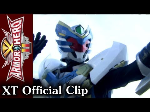 Armor Hero XT - Official English Clip [HD 公式] - 03