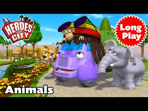 Heroes of the City - Animals - Preschool Animation - Long Play
