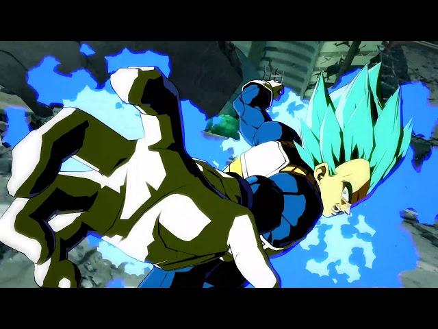 Dragon Ball FighterZ - SSGSS Vegeta Character Trailer   PS4, X1, PC
