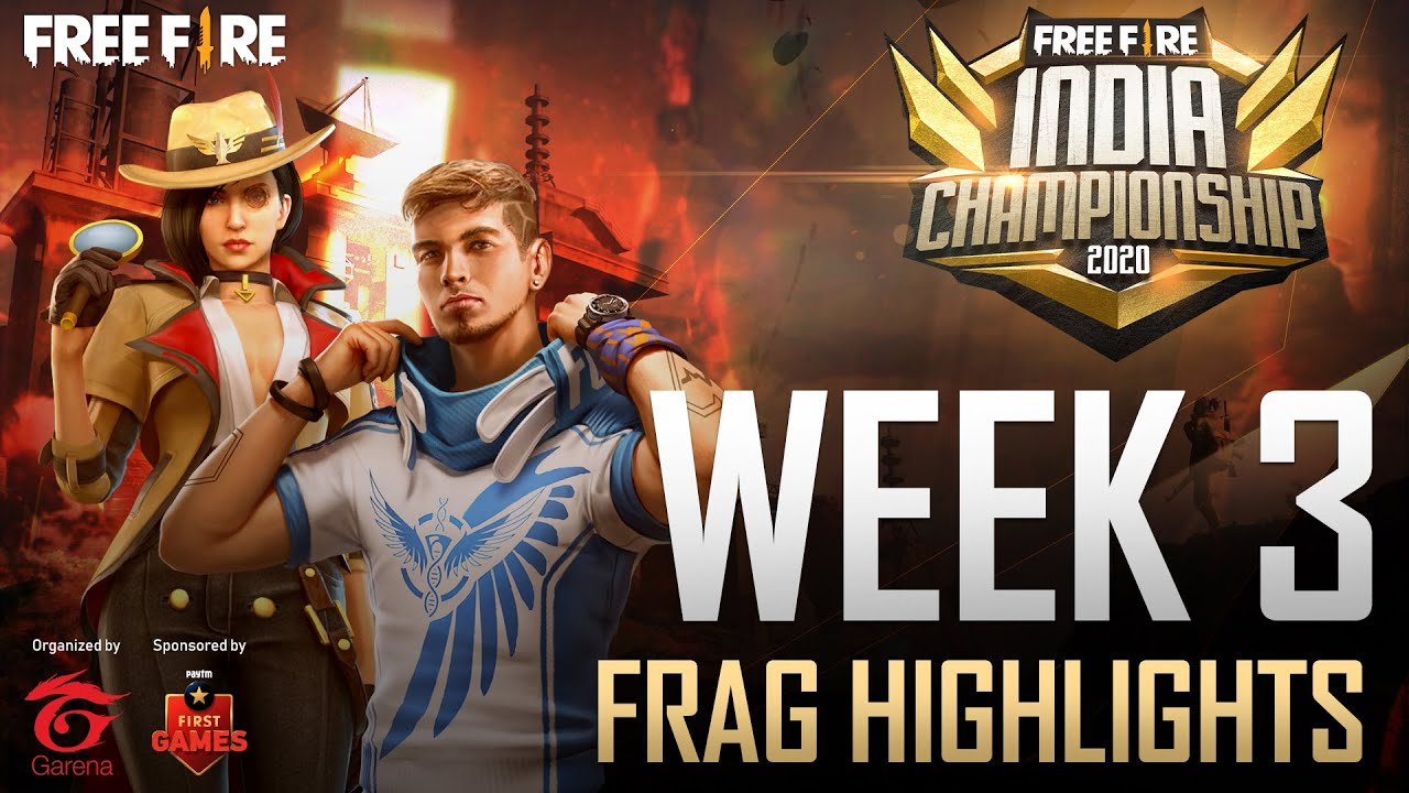 Top Frag Highlights | Week 3 | Free Fire India Championship 2020 Fall