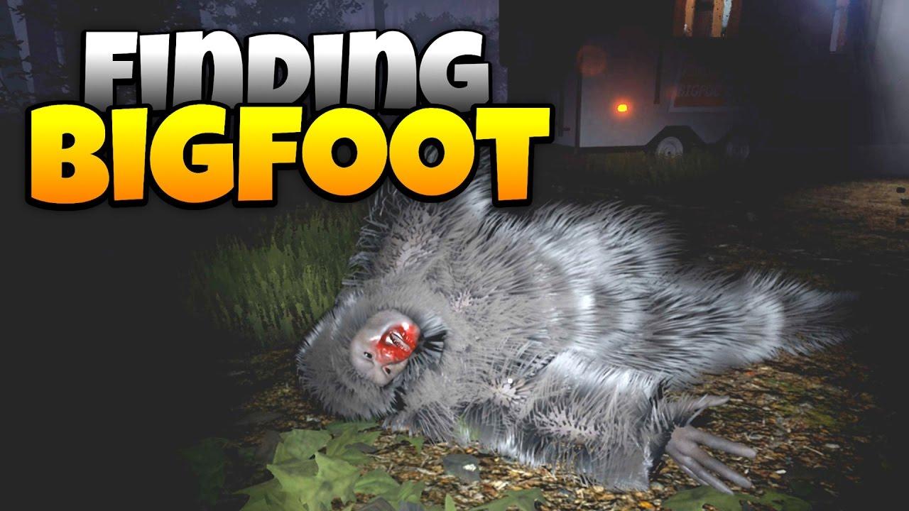 Finding Bigfoot Spiel