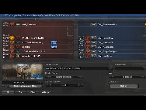 YOUTUBERS POINT BLANK VS GM POINT BLANK - POINT BLANK GARENA INDONESIA