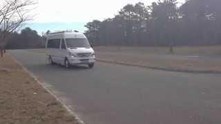 2014 5 Airstream Interstate Ext Mercedes Benz Sprinter Test Drive