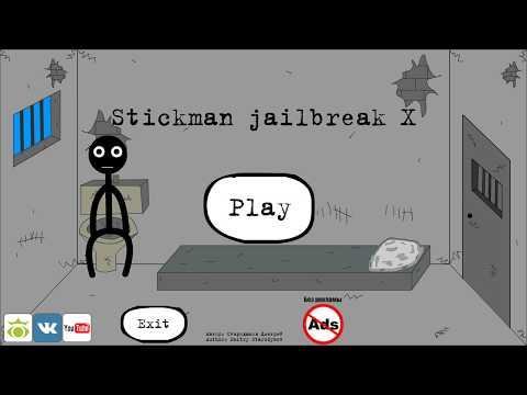 Stickman Jailbreak X (by Starodymov) / Android Gameplay HD